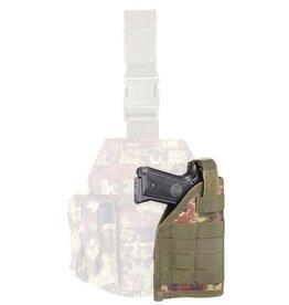 OUTAC Universal MOLLE pistol holster - Vegetato Italiano