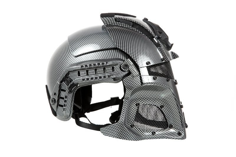 Ultimate Tactical Casque Modulaire - FAST Warrior - Carbon