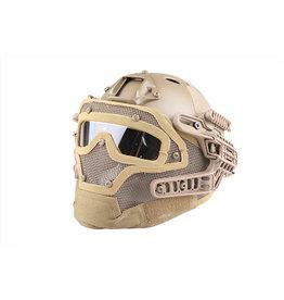 Emerson Gear FAST Para Jump G4 system helmet - TAN