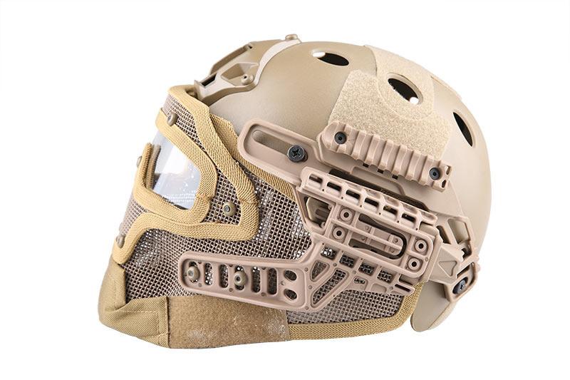 Emerson Gear FAST Para Jump G4 System Helm - TAN