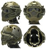 DragonPro FAST Para Jump G4 System Helm - ATACS FG