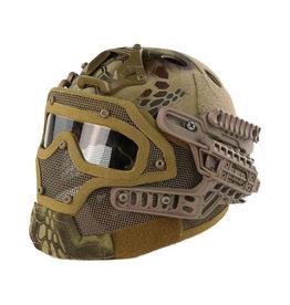 DragonPro FAST Para Jump G4 system helmet - Highlander