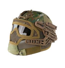 DragonPro FAST Para Jump G4 system helmet - MultiCam