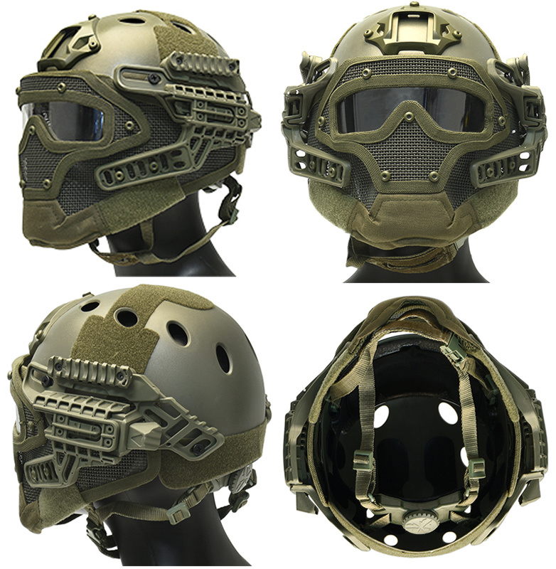DragonPro FAST Para Jump G4 System Helm - BK