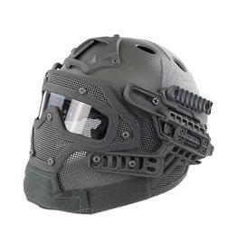 DragonPro FAST Para Jump G4 System Helmet - GR