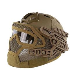 DragonPro FAST Para Jump G4 system helmet - TAN