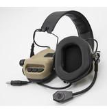 Opsmen Protection auditive active Earmor M31 - TAN