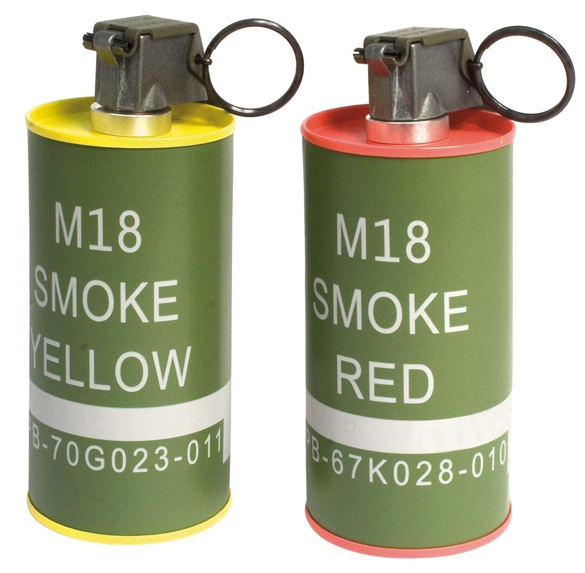 G&G M18 dummy smoke grenade set - 2 pieces
