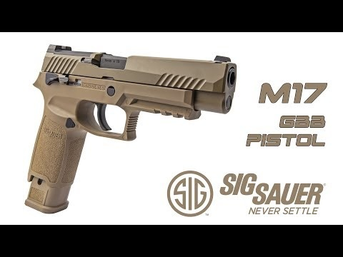 Sig Air VFC Proforce P320 M17 Co2 GBB 1.50 Joule - TAN