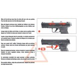 Walther TPM1 T4E Co2 RAM 7,5 Joule - Cal. 43 - BK