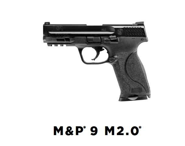 Walther S&W M&P9 2.0 T4E Co2 RAM 5.0 Joules - Cal. 43 - BK