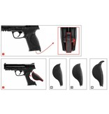 Walther S&W M & P9 2.0 T4E Co2 RAM 5.0 Joules - Cal. 43 - BK
