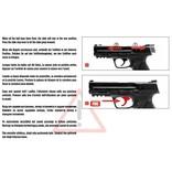 Umarex S&W M & P9 2.0 T4E Co2 RAM 5.0 Joules - Cal. 43 - BK