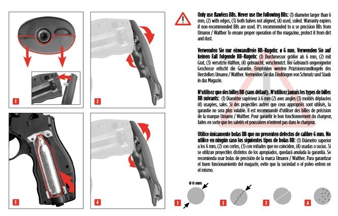 Elite Force H8R Gen2 Co2 Revolver 1,0 Joule - BK