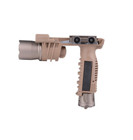 Night Evolution M910 Vertikal Foregrip LED WeaponTaclight - TAN