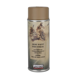 Fosco Camouflage Army Paint Spray RAL 7028 - WH dark yellow