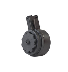 G&P elektrisches Drum Magazin Typ Attack für M4/M16 - 1.500 BBs