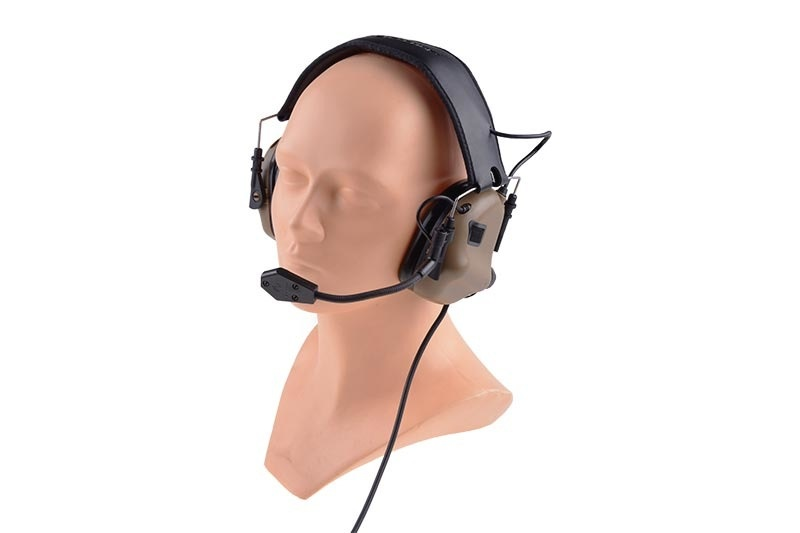 Opsmen Earmor M32 active hearing protection - Coyote