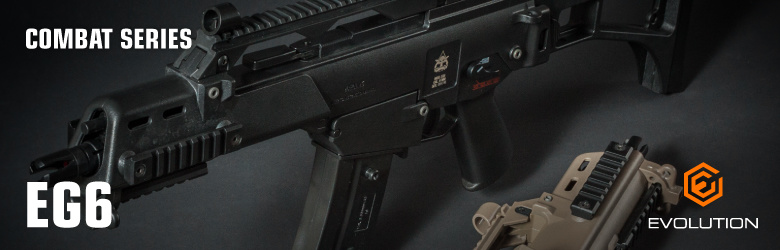 Evolution Combat Series EG6 G36C AEG 1,0 Joule  - TAN