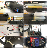 Maxx Model ME - PRO LED Tracer CNC Rotary Hop-Up Chamber for  M4/M16 AEG