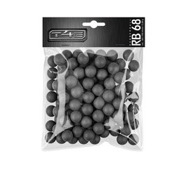 Umarex T4E RB 68 hard Rubberballs  - Cal. 68 - 100 pieces