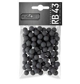 Umarex T4E RB 43 Rubberballs Hartgummikugeln - Kal. 43 - 100 Stück