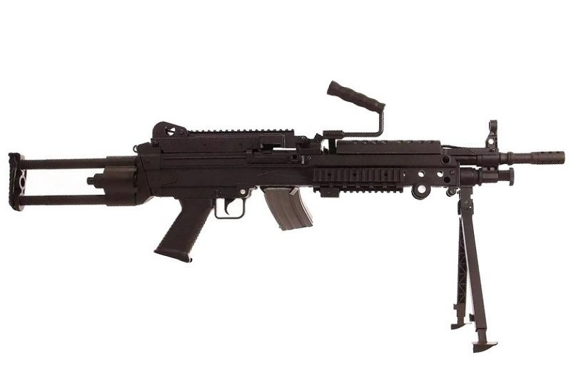 Cybergun FN Herstal M249 Para LMG AEG  0,84 Joule - BK