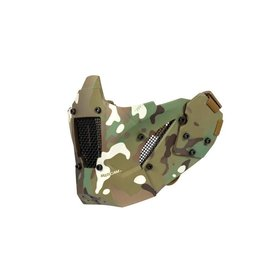 Ultimate Tactical Mesh protective mask for FAST helmets - MultiCam