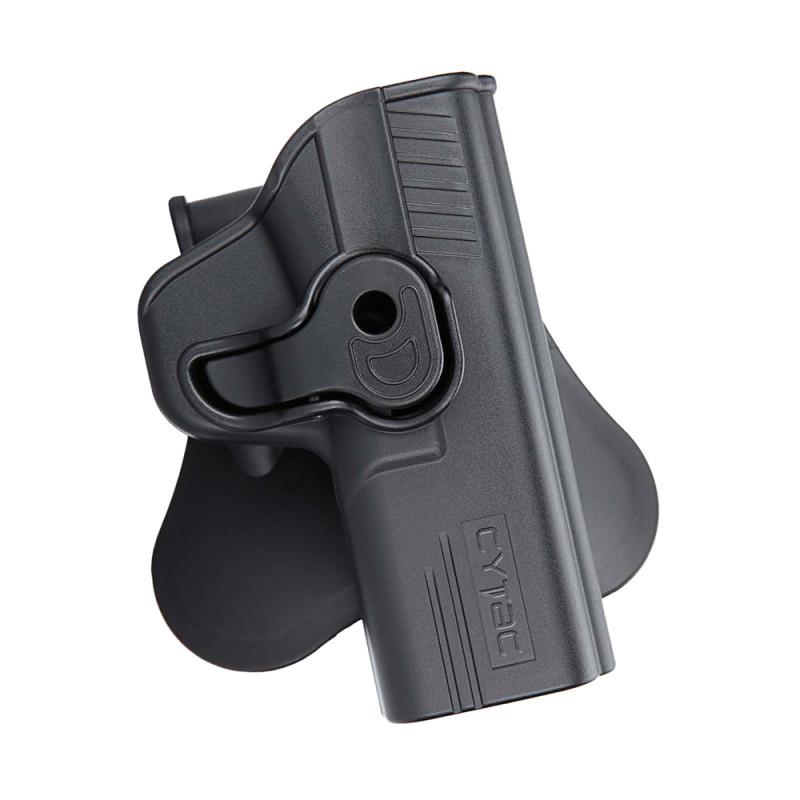 Cytac R-Defender holster for M&P9 right-handers - BK