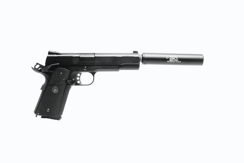 MadBull Gemtech Outback II Schalldämpfer Replika - BK