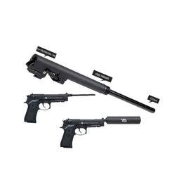 MadBull Ensemble de canons Assassins 235mm pour Socom Gear M9/M9A1 - BK