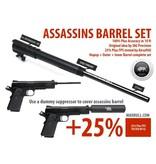 MadBull Assassins 235mm barrel set for Socom Gear WE 1911 - BK