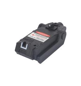WADSN Viseur laser rouge à montage bas - BK