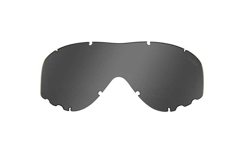 Wiley X SPEAR Smoke/Clear/Light Rust safety glasses - TAN