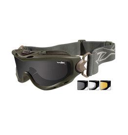 Wiley X Lunettes de sécurité SPEAR Smoke/Clear/Light Rust - FG