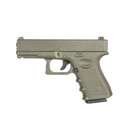 Galaxy G15 Vollmetall Federdruck Pistole - 0,50 Joule - OD