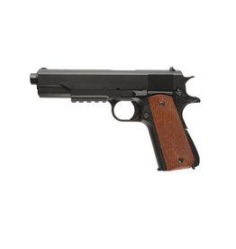 Well P361 1911 RIS pistolet à pression à ressort - 0,50 joule - BK