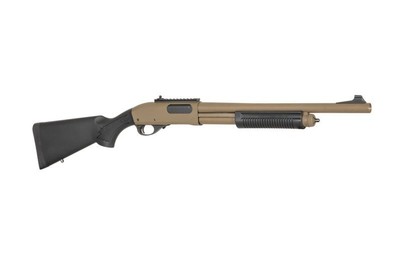 Golden Eagle 8870 tactical 3/6 burst M870 Greengas Shotgun - TAN