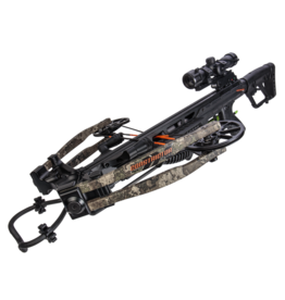 Bear Archery X Constrictor CDX Hunting Crossbow Package - Strata black camo