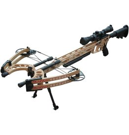 PSE Archery TAC Elite Crossbow Set - TAN
