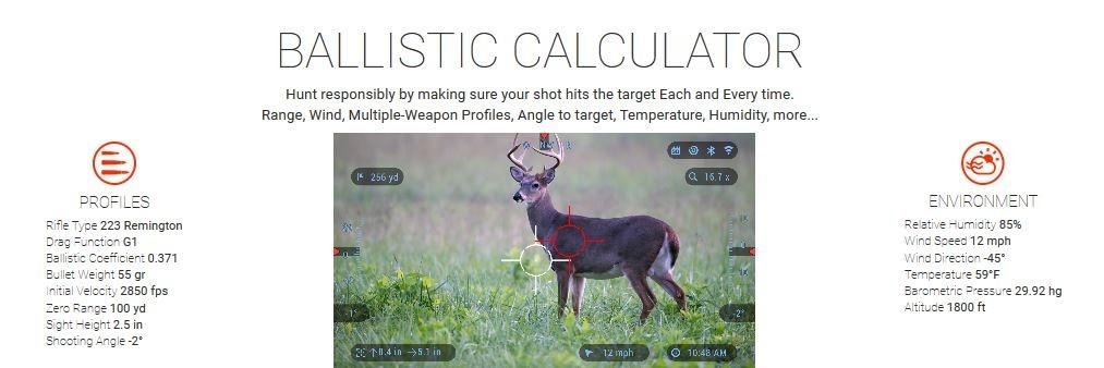 ATN X-SIGHT 4K PRO 3-14x day and night riflescope - BK
