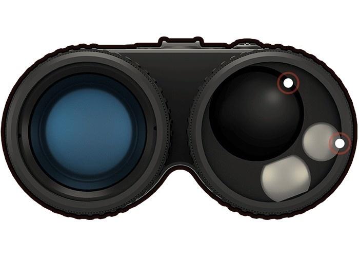 ATN BinoX 4K day and night 4-16x binoculars with rangefinder - BK
