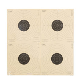 Umarex Pistol target 17x17 cm - 1,000 pieces