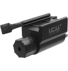 ACM Energy Câmera de ação ICU 2.0 HD 720P com montagem Picatinny de 22mm