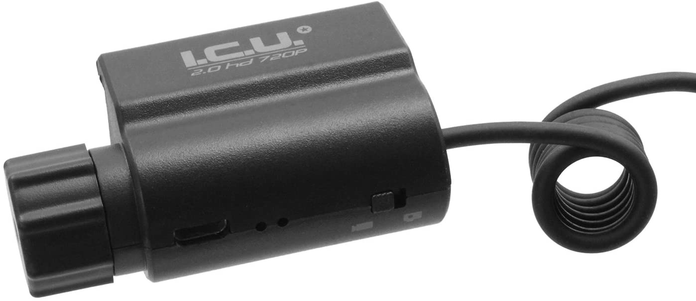 ACM Energy Action camera ICU 2.0 HD 720P with 22mm Picatinny mount