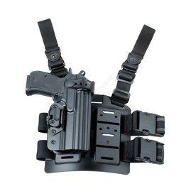 Dasta Glock 17 Kydex thigh holster 740PHDLB - BK