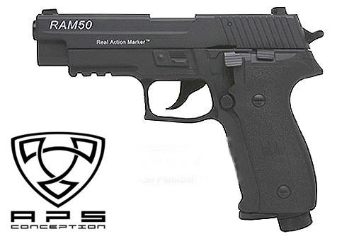 APS RAM 50 P226 4,0 Joule - Kal. 43 - BK