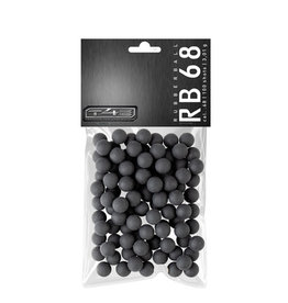 Umarex T4E RB Prac-Series 68 hard rubber balls - cal. 68 - 100 pieces