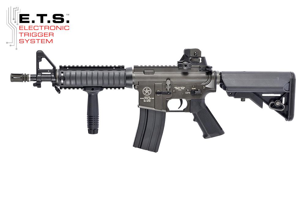 Evolution King Arms Lone Star Border Patrol SWAT SBR ETS AEG 1.0 Joule - BK
