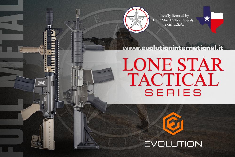 Evolution King Arms Lone Star Border Patrol SWAT SBR MosFet AEG 1,0 Joule - BK